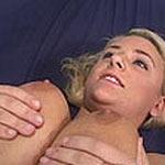 Titty fuck her big natural guns