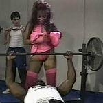Nubian slut ghetto gym gangbang