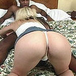 Hot blonde riding fat dick and sucking cock
