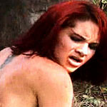Anal penetration of a red haired girl