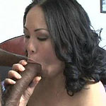 She loves big black dicks