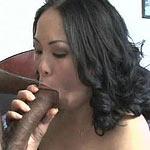 She loves big black dicks