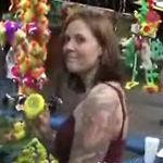 Candi plays at the fair