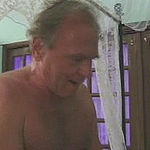 Chubby dark-haired granny in mad doggie style sex play on bed