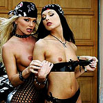 Naughty girls uses dildo and fingers