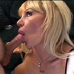 A milf who loves a hard cock in her mouth