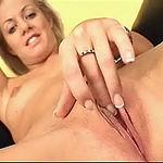 Trinity fingers pussy and sucks hard cock