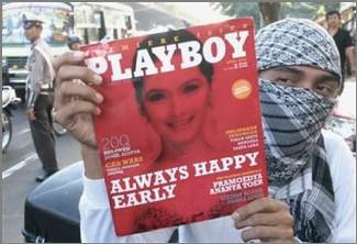 Playboy in Indonesia