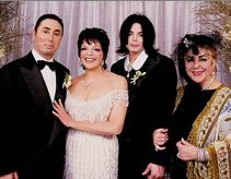 Liza Minnelli David Gest Michael Jackson Elizabeth Taylor