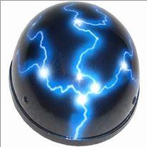 lightning biker helmet